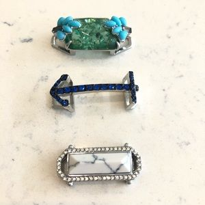 3 Stella Dot Keep Collective slider charms